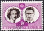 Sellos de Europa - Bélgica -  Boda Real Balduino & Fabiola