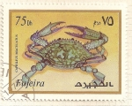 Sellos del Mundo : Asia : Emiratos_Árabes_Unidos : Fujeira. Criaturas marinas. Caprilius Maculatus.