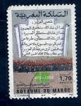 Sellos de Africa - Marruecos -  19  Aniversario Marcha Verde