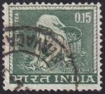 Sellos de Asia - India -  recolección del té
