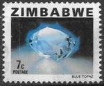 Sellos del Mundo : Africa : Zimbabwe : Minerales