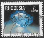 Sellos del Mundo : Africa : Zimbabwe : Minerales. Rhodesia.