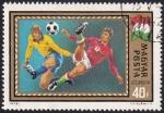 Sellos de Europa - Hungría -  copa de Europa '72