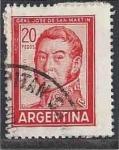 Sellos del Mundo : America : Argentina : 1967 - José Francisco de San Martín (1778-1850)