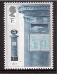 Sellos de Europa - Reino Unido -  serie- Buzones históricos