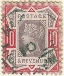 Sellos de Europa - Reino Unido -  Efigie de la reina Victoria