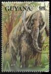 Sellos del Mundo : America : Guyana : Animales - Mammuthus sp.