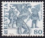 Sellos de Europa - Suiza -  Vogel Gryff Basilea