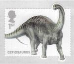 Sellos del Mundo : Europa : Reino_Unido : serie- Dinosaurios