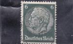 Sellos de Europa - Alemania -  Presidente VON HINDENBURG