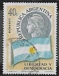 Sellos del Mundo : America : Argentina : Libertad y Democracia