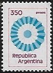 Sellos del Mundo : America : Argentina : Escarapela