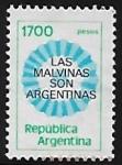 Sellos del Mundo : America : Argentina : Las Malvinas son Argentinas