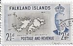 Sellos del Mundo : Europa : Reino_Unido : Islas Malvinas o Falkland