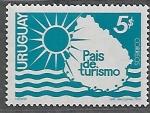 Sellos del Mundo : America : Uruguay : Uruguay, país de turismo