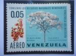 Sellos de America - Venezuela -  El Mari-Mari Rosado - Caesalpiniaceae - Cassia grandis L - Serie:Conserve los Recursos Naturales,Ven