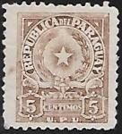 Sellos del Mundo : America : Paraguay : Escudo de armas de la República de Paraguay