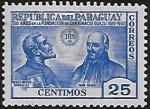 Sellos del Mundo : America : Paraguay : 350 años de la fundación de San Ignacio Guazú
