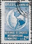 Sellos del Mundo : America : Brasil : VII Reunión del Congreso Interamericano de Municipios
