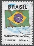 Sellos del Mundo : America : Brasil : Bandera Nacional