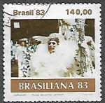 Sellos del Mundo : America : Brasil : Carnaval: Escuela de samba, destaque