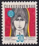 Sellos de Europa - Checoslovaquia -  año internacional de la mujer