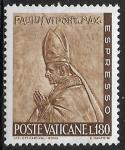 Sellos del Mundo : Europa : Vaticano : Papa Paul VI
