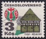 Sellos de Europa - Checoslovaquia -  Melnicko