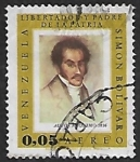 Sellos del Mundo : America : Venezuela : Simón Bolívar, libertador y Padre de la Patria