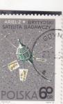 Sellos de Europa - Polonia -  satélite  Ariel 2 (Gran Bretaña)