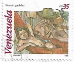 Sellos del Mundo : America : Venezuela : Shamán guahibo