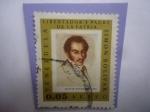 Sellos de America - Venezuela -  Simón Bolívar (1783-1830)-Serie: Simón Bolívar en la Pintura- Retrato a la Edad de 33 Años en Haití-