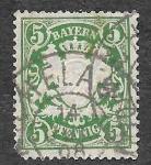 Sellos de Europa - Alemania -  62a - Leones (Baviera)