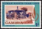 Sellos del Mundo : Africa : Gambia : Isla James y sitios anejos