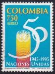 Sellos de America - Colombia -  Naciones Unidas