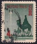 Sellos de America - Cuba -  Navidad 56