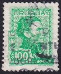 Sellos de America - Uruguay -  Gral. Artigas