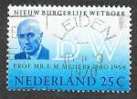 Sellos de Europa - Holanda -  480 - Profesor E.M. Meijers