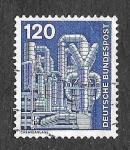 Sellos de Europa - Alemania -  1181 - Planta de Química
