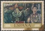 Sellos del Mundo : Europa : España : José Gutiérrez Solana. ED 2077