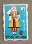 Sellos de Europa - Rumania -  Trajes regionales:Suceava