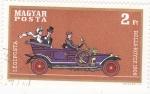 Sellos de Europa - Hungría -  Coche de epoca- Rolls Royce 1908