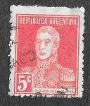 Sellos de America - Argentina -  328 - José Francisco de San Martín y Matorras
