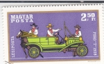 Sellos de Europa - Hungría -  coche de época