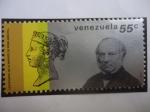 Sellos de America - Venezuela -  Sir Rowland Hill (1795-1879)-Cent. de la Muerte (1879-1979)-Creador del primer Sello:Penny Black.