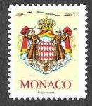Sellos del Mundo : Europa : Mónaco :  2540 - Escudo de Armas de Mónaco