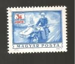 Sellos de Europa - Hungría -  CAMBIADO MB