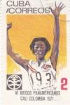 Sellos de America - Cuba -  VI juegos panamericanos Cali'71