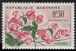 Sellos del Mundo : Africa : Gabón : Flores -Combretum