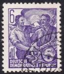 Sellos de Europa - Alemania -  trabajadores